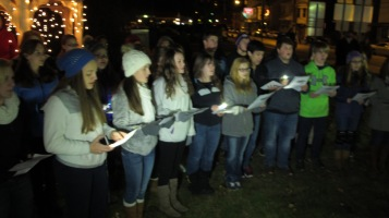Tree Lighting, Spirit of Christmas Festival, Depot Square Park, Tamaqua, 12-6-2015 (12)