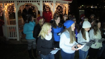Tree Lighting, Spirit of Christmas Festival, Depot Square Park, Tamaqua, 12-6-2015 (14)