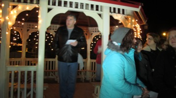 Tree Lighting, Spirit of Christmas Festival, Depot Square Park, Tamaqua, 12-6-2015 (17)