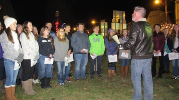 Tree Lighting, Spirit of Christmas Festival, Depot Square Park, Tamaqua, 12-6-2015 (18)