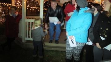 Tree Lighting, Spirit of Christmas Festival, Depot Square Park, Tamaqua, 12-6-2015 (19)