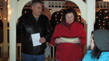 Tree Lighting, Spirit of Christmas Festival, Depot Square Park, Tamaqua, 12-6-2015 (23)