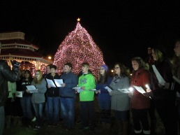 Tree Lighting, Spirit of Christmas Festival, Depot Square Park, Tamaqua, 12-6-2015 (27)