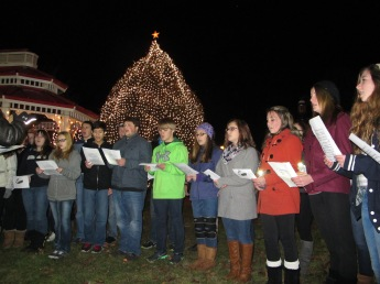 Tree Lighting, Spirit of Christmas Festival, Depot Square Park, Tamaqua, 12-6-2015 (30)