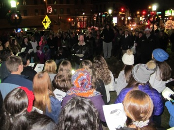 Tree Lighting, Spirit of Christmas Festival, Depot Square Park, Tamaqua, 12-6-2015 (35)