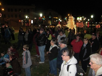 Tree Lighting, Spirit of Christmas Festival, Depot Square Park, Tamaqua, 12-6-2015 (36)