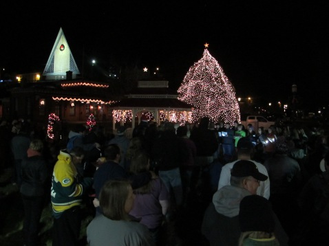 Tree Lighting, Spirit of Christmas Festival, Depot Square Park, Tamaqua, 12-6-2015 (39)