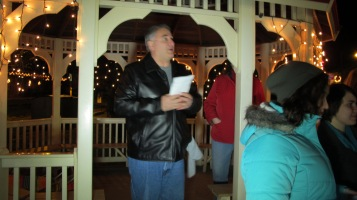 Tree Lighting, Spirit of Christmas Festival, Depot Square Park, Tamaqua, 12-6-2015 (4)