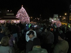 Tree Lighting, Spirit of Christmas Festival, Depot Square Park, Tamaqua, 12-6-2015 (41)
