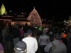 Tree Lighting, Spirit of Christmas Festival, Depot Square Park, Tamaqua, 12-6-2015 (42)