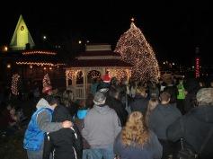 Tree Lighting, Spirit of Christmas Festival, Depot Square Park, Tamaqua, 12-6-2015 (43)