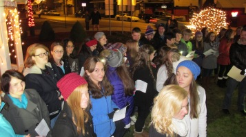 Tree Lighting, Spirit of Christmas Festival, Depot Square Park, Tamaqua, 12-6-2015 (6)