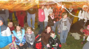 Tree Lighting, Spirit of Christmas Festival, Depot Square Park, Tamaqua, 12-6-2015 (7)
