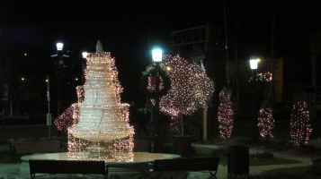Tree Lighting, Spirit of Christmas Festival, Depot Square Park, Tamaqua, 12-6-2015 (70)