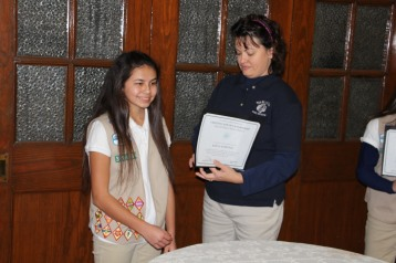Two Tamaqua Girl Scouts Receive Silver Award, Evangelical Lutheran Church, Tamaqua, 12-20-2015 (11)