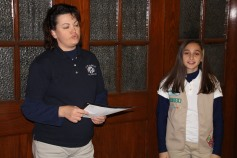 Two Tamaqua Girl Scouts Receive Silver Award, Evangelical Lutheran Church, Tamaqua, 12-20-2015 (6)