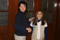 Two Tamaqua Girl Scouts Receive Silver Award, Evangelical Lutheran Church, Tamaqua, 12-20-2015 (8)