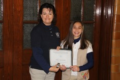 Two Tamaqua Girl Scouts Receive Silver Award, Evangelical Lutheran Church, Tamaqua, 12-20-2015 (9)