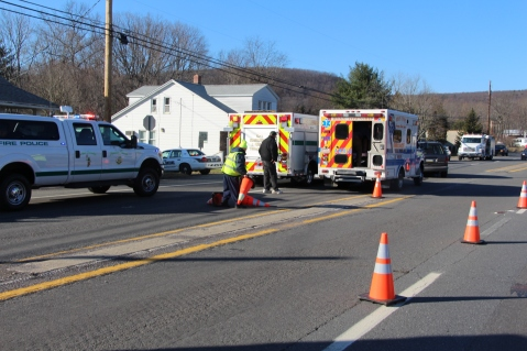 Two Vehicle Accident, north of Ben Titus Road on SR309, Rush Township, 12-4-2015 (1)