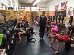 USA Martial Arts Holds Kickboxing For Toys For Tots, USA Martial Arts, Tamaqua, 12-12-2015 (3)