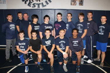 Varsity Wrestling, Tamaqua Area High School, Tamaqua, 11-23-2015 (2)
