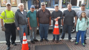 Volunteers, Tamaqua Historical Society, Tamaqua Heritage Festival, Tamaqua, 10-11-2015 (13)
