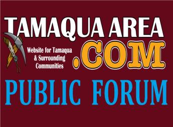TamaquaArea BANNER, PUBLIC FORUM thinner, shorter