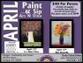 4-12, 13-2016, Paint & Sip, Tamaqua Community Arts Center, Tamaqua