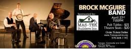4-23-2016, Brock McGuire Band, Tamaqua Community Arts Center, Tamaqua