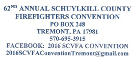 9-11 to 9-17-2016, Annual Schuylkill County Firefighters Convention, Tremot Fire Company, Tremont (2)