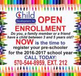 Child Development Inc Enrollment