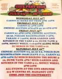 7-13, 14, 15, 16-2016, Citz Fest 2016, Citizens Fire Company, Mahanoy City