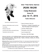 7-16, 17-2016, Inter Tribal Native American Pow Wow, Camp Rotawanis, Drums (2)