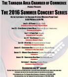 7-21, 7-28, 8-4, 8-11, 8-18, 9-1-2016, Tamaqua Summer Concert Series, Tamaqua Train Station, Tamaqua.jpg