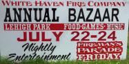 7-22, 23, 24-2016, Annual Bazaar, White Haven Fire Company, White Haven (2)