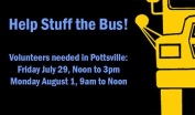 7-29, 8-1-2016, Stuff The Bus Help Needed, Pottsville