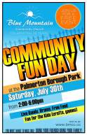 7-30-2016, Community Fun Day, Palmerton Borough Park, Palmerton