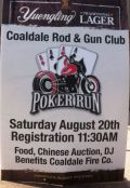 8-20-2016, Chinese Auction, Poker Run, Horseshoe Tourney, at Coaldale Rod & Gun Club, and at Coaldale Fire Company, Coaldale