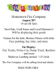 8-20-2016, Rush Township Community Day, Hometown Fire Company, Hometown