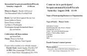 8-20-2016, Shenandoah Sesquicentennial Kickoff Parade, Shenandoah