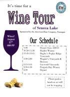 8-27-2016, Wine Tour via American Hose Fire Company in Tamaqua, at Seneca Lake