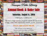8-6-2016, Book and Bake Sale, Tamaqua Public Library, Tamaqua