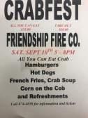 9-10-2016, Crabfest, Friendship Fire Company, Altamont