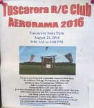 8-21-2016, Tuscarora R C Club, Aerorama 2016, Flying Field, Tuscarora State Park, Tuscarora