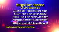 8-22, 23, 24-2016, Wings Over Hazleton, Regional Airport, Hazleton