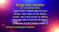 8-22, 23, 24-2016, Wings Over Hazleton, Regional Airport, Hazleton