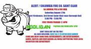 8-27-2016, Pig n Rig BBQ, Alert, Columbia Fire Company, Saint Clair