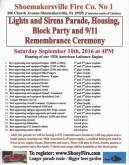 9-10-2016, Apparatus Parade, Truck Housing, Block Party, 911 Remembrance, Shoemakersville Fire Co, Shoemakersville (2)