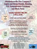 9-10-2016, Apparatus Parade, Truck Housing, Block Party, 911 Remembrance, Shoemakersville Fire Co, Shoemakersville (3)