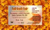 9-11-2016, Fall Craft Fair, Mahoning Valley Volunteer Fire Company, Lehighton (2)
